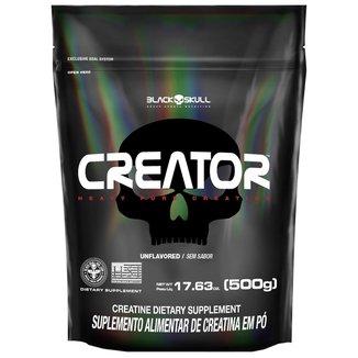 CREATOR - CREATINA MONOHIDRATADA - 500G - REFIL