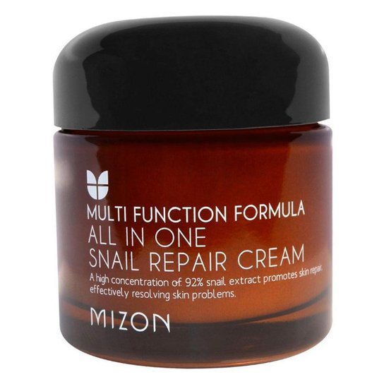 Creme Anti-idade Mizon All-in-One Snail Repair Cream 75ml - Incolor