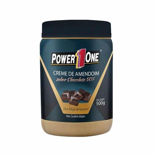 Creme de Amendoim - 500g Chocolate 50% - Power One -