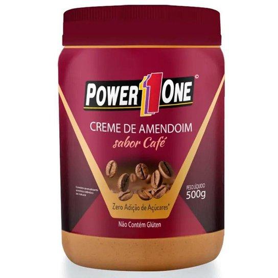 Creme de Amendoim Power 1 One 500g Sabor Café -