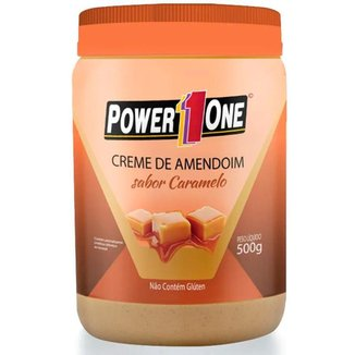 Creme de Amendoim Power 1 One 500g Sabor Caramelo