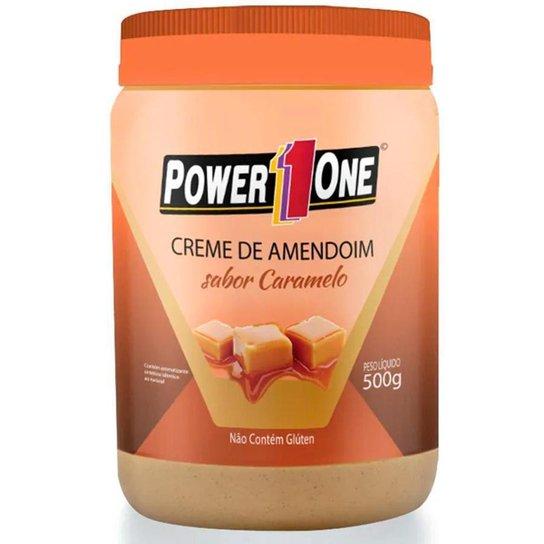 Creme de Amendoim Power 1 One 500g Sabor Caramelo -