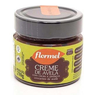 Creme de Avelã Flormel Crocante Zero Açúcar 210g