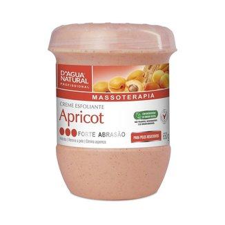 Creme Esfoliante Apricot Forte 650g D'Agua Natural