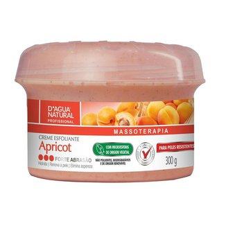 Creme Esfoliante Apricot Forte Abrasão 300g D'agua Natural