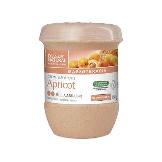 Creme Esfoliante Apricot Média 650g D'Agua Natural