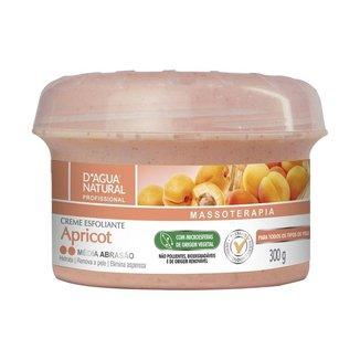 Creme Esfoliante Apricot Média Abrasão 300g D'agua Natural