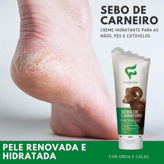 Creme Hidratante Sebo de Carneiro Tradicional Fashion 200ml - Incolor