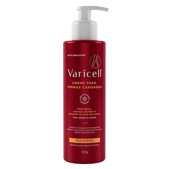 Creme Hidratante Varicell 300g - Incolor