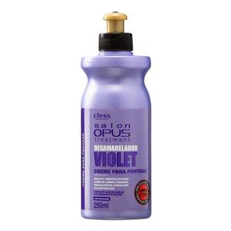 Creme para Pentear Desamarelador Violet Salon Opus 250ml