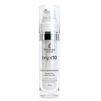 Creme Rejuvenescedor com vitamina C Mantecorp Ivy C10 30g