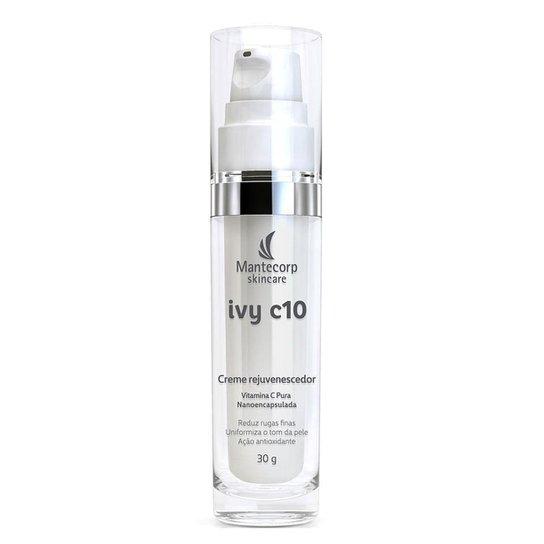 Creme Rejuvenescedor com vitamina C Mantecorp Ivy C10 30g - Incolor