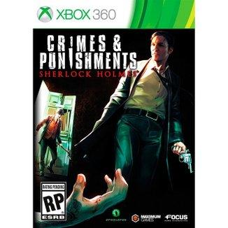 Crimes & Punishments Sherlock Holmes - Xbox 360