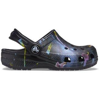 Crocs Classic Infantil Out of this World II Clog Kids Black