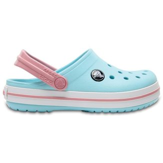 Crocs Crocband Clog Kids Ice Blue/White
