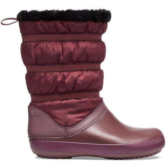 Crocs Crocband Winter Boot W Burgundy - Vinho