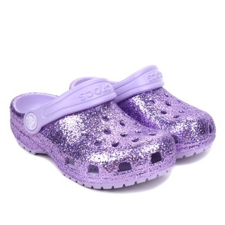 Crocs Infantil Classic Glitter