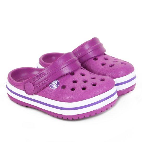 Crocs Infantil Crocband Clog - Roxo
