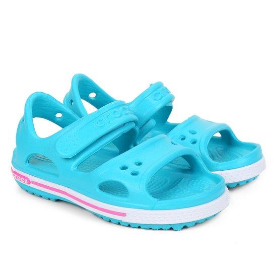 Crocs Infantil Crocband II PS - Verde água