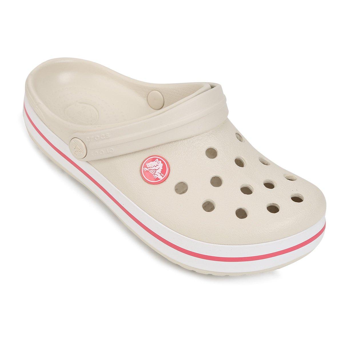 Crocs Infantil Crocband - Off White