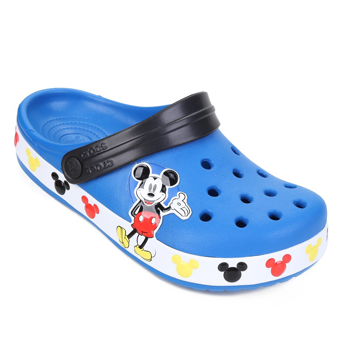 NEW Disney Baby Mickey Mouse Slippers in Blue