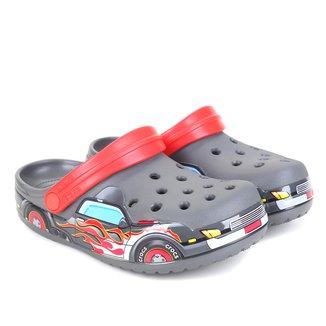 Crocs Infantil FLTruck Band Clog K Masculina