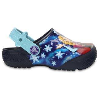 Crocs Infantil Funlab Frozen Feminino