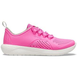 Crocs Literide pacer Kids Infantil Eletric Pink/White