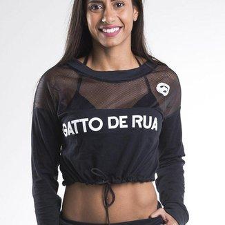Cropped Feminino Gatto de Rua