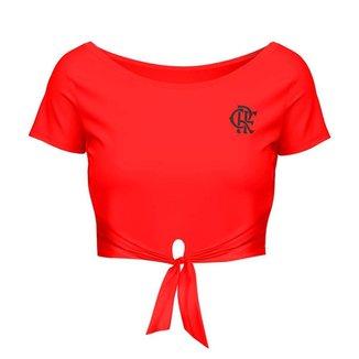 Cropped Flamengo Feminino Glisten Braziline G