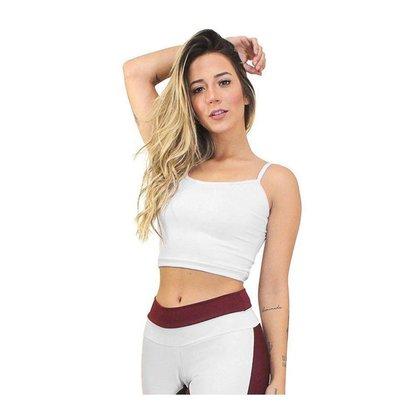 Cropped Top Fitness GR Esporte Alcinha Basic Feminino