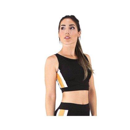 Cropped Top Fitness GR Esporte com Detalhe Feminino