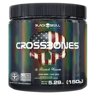 Cross Bones 150gr - Black Skull