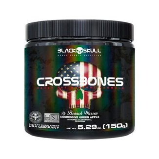 Crossbones - Aggressive Green Aplee 150g - Black Skull