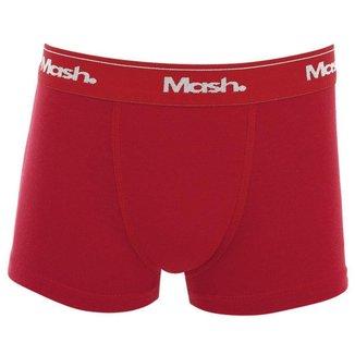 Cueca Infantil Mash Boxer Lisa Algodão Elástico Masculina