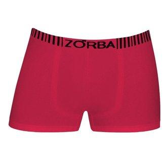 Cueca Zorba Boxer Basic 829 Ciruela - M