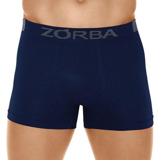 Cueca Zorba Boxer Extreme Sport - Azul