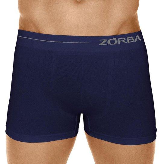 Cueca Zorba Boxer Side - Azul