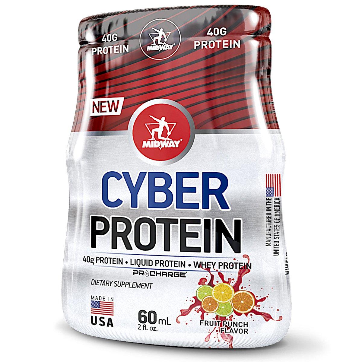 ... Cyber Protein Proteína Líquida Isolada com colágeno Hidrolisado  Midway  USA 60ml c  12 Unidades ... 29b60faf79dab