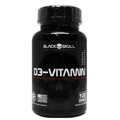 D3 Vitamin 100 CápsBlack Skull