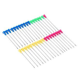 Dardos para Zarabatana MK100AS36 Colorido - Cartela com 36 Setas ManKung