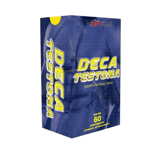 Deca Testona  Up Sports Nutrition 60 Comprimidos -