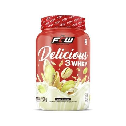 Delicious 3 Whey - 900g - FTW