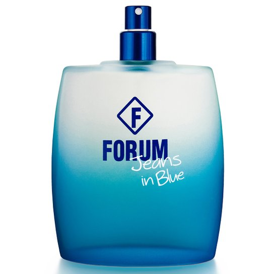 Deo Colônia Jeans in Blue Unissex Forum 50ml - Incolor