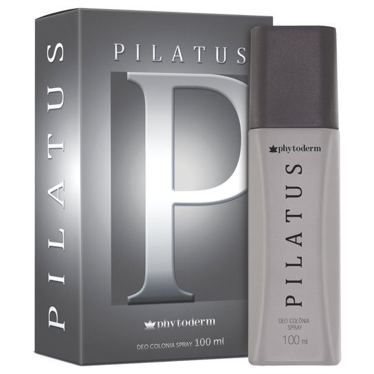 Deo Colônia Pilatus Masculina Phytoderm 100ml - Incolor