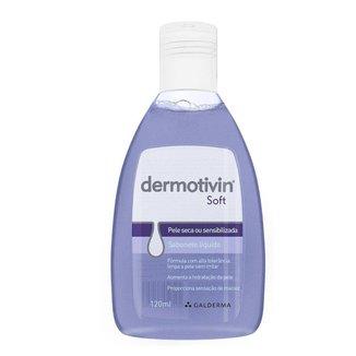 Dermotivin Soft - Sabonete Líquido 120ml