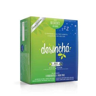 Desinchá Misto - 30 Sachês Dia + 30 Sachês Noite - Desinchá