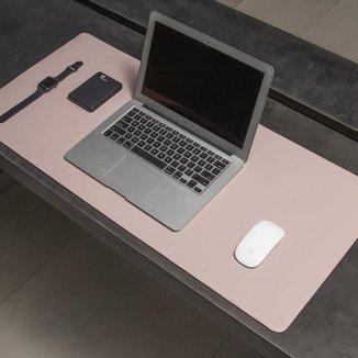 Desk Pad Bullpad 90x40cm Em Couro Sintetico