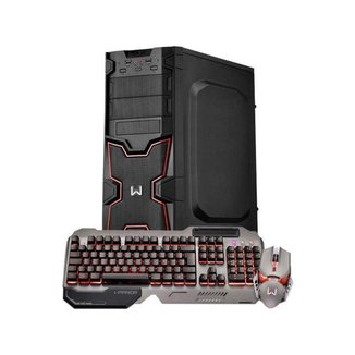 Desktop Gamer Multilaser Warrior Minisink DT201 - AMD Ryzen 3 8GB 1TB Linux