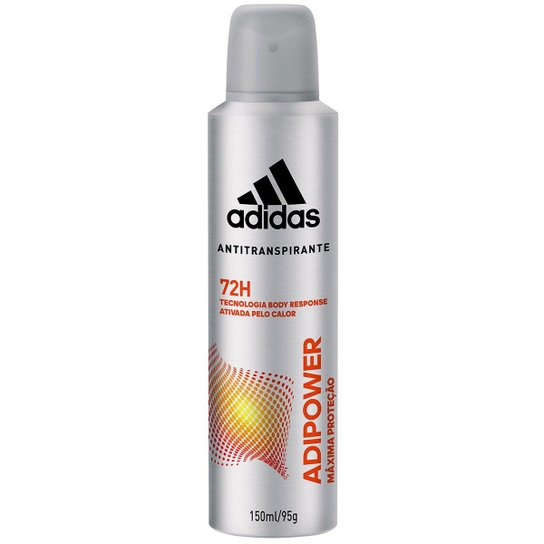 Desodorante Adidas Adipower Aerossol Masculino 150ml - Incolor
